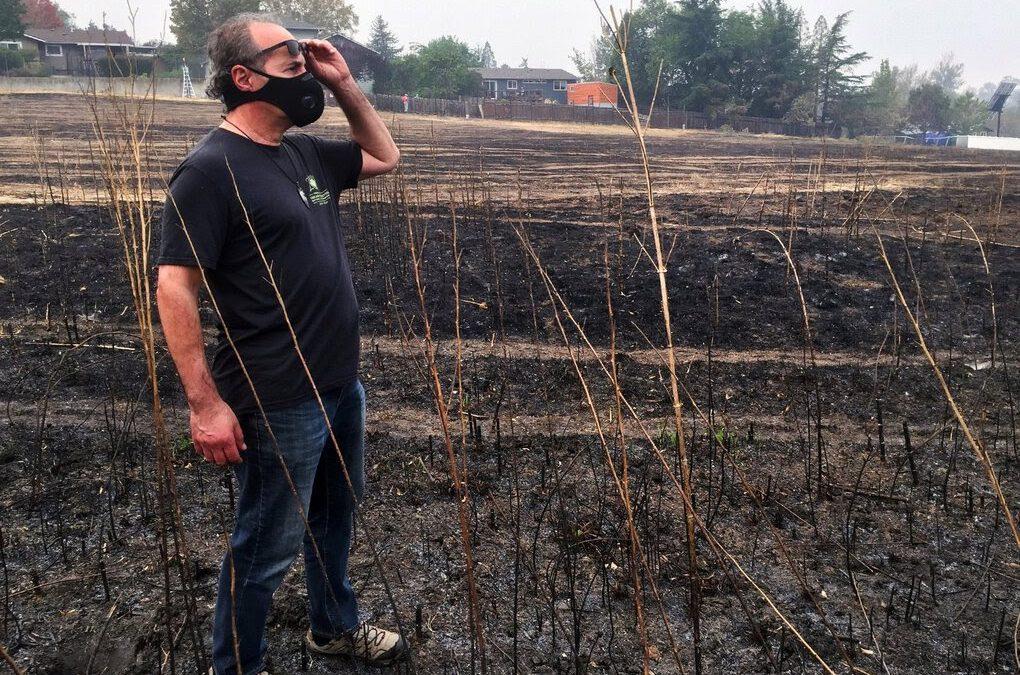 Forest scientist Dominick DellaSala on Oregon's most destructive urban fire in history